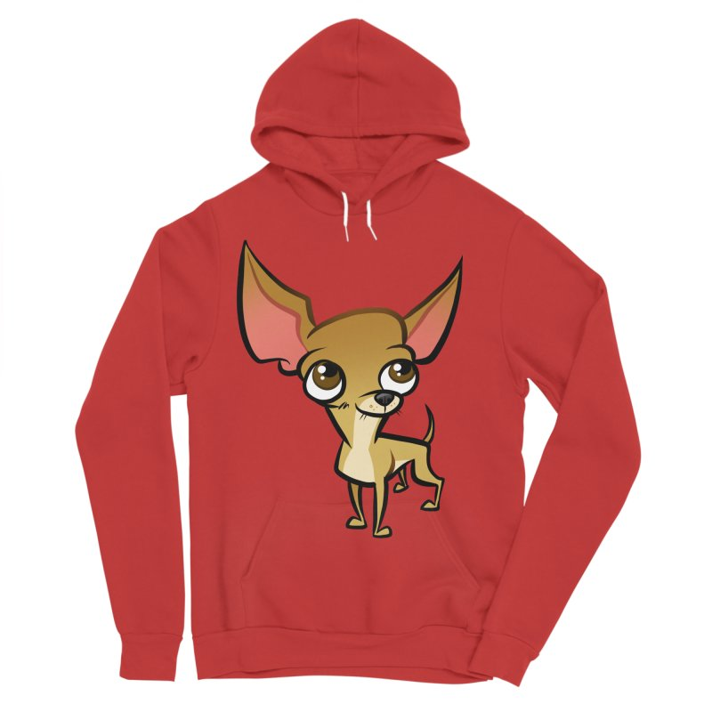Chihuahua Women's Pullover Hoody by binarygod's Artist Shop