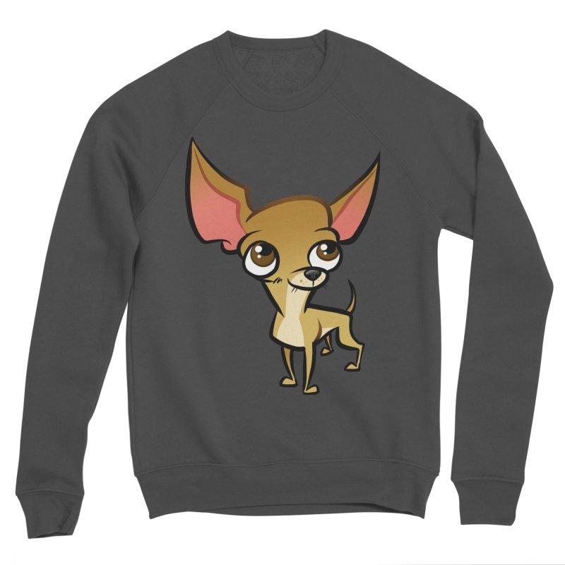 Chihuahua Men's Sponge Fleece Sweatshirt by binarygod's Artist Shop