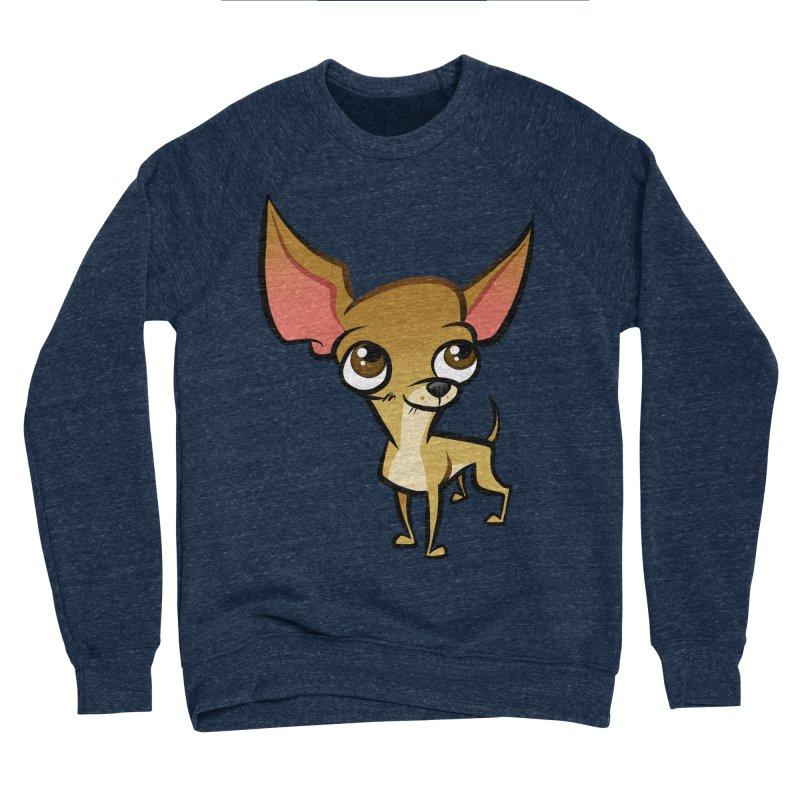 Chihuahua Women's Sponge Fleece Sweatshirt by binarygod's Artist Shop