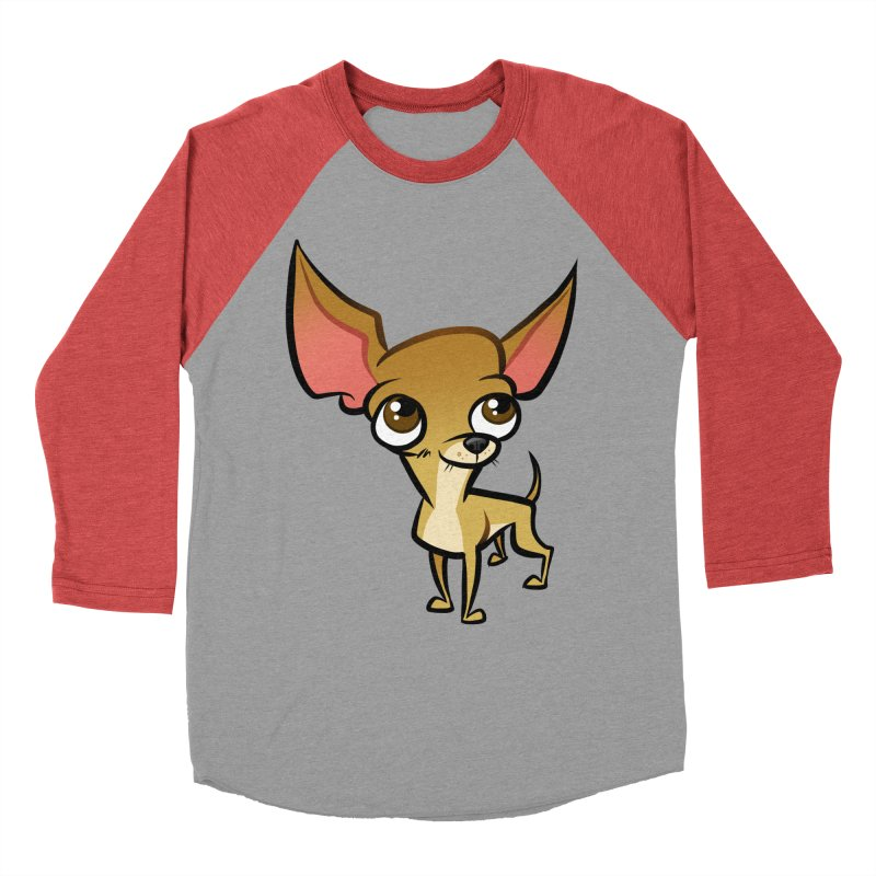 Chihuahua Men's Longsleeve T-Shirt by binarygod's Artist Shop