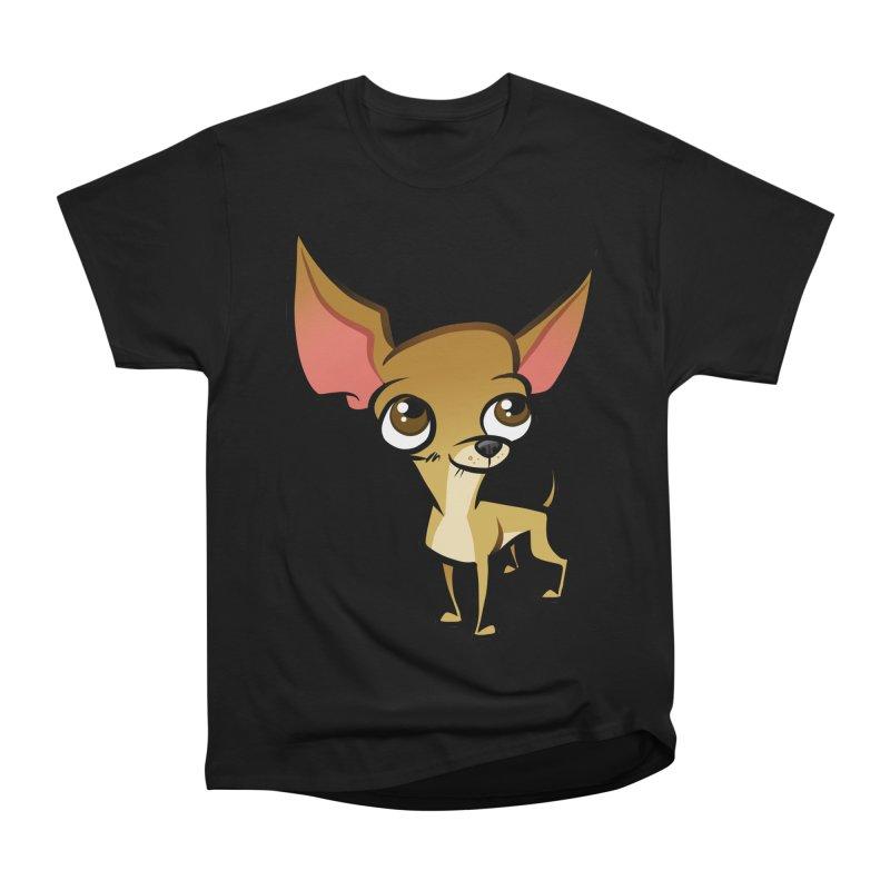 Chihuahua Women's Heavyweight Unisex T-Shirt by binarygod's Artist Shop
