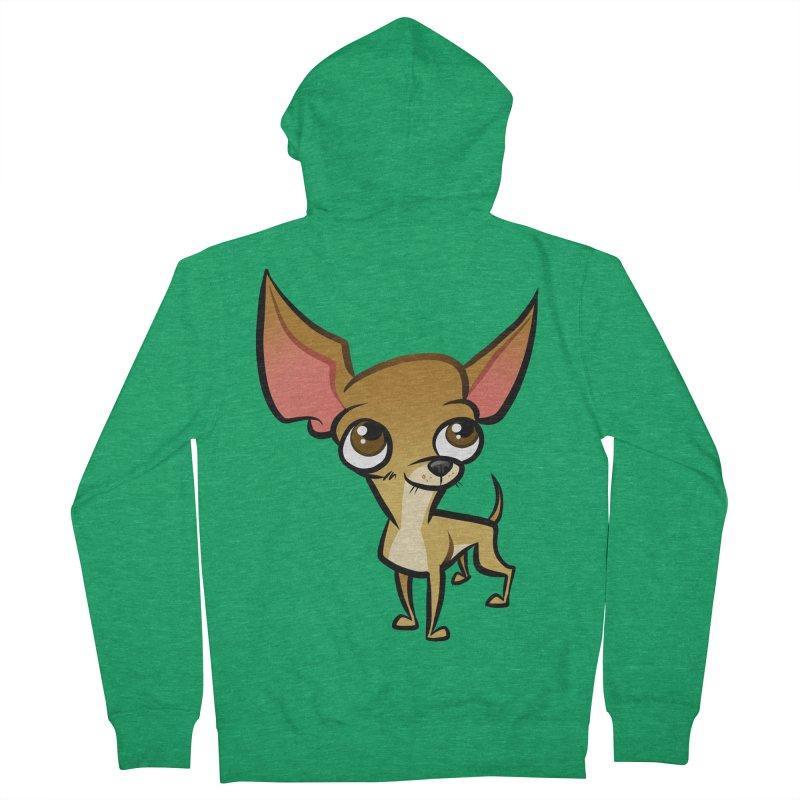 Chihuahua Women's Zip-Up Hoody by binarygod's Artist Shop