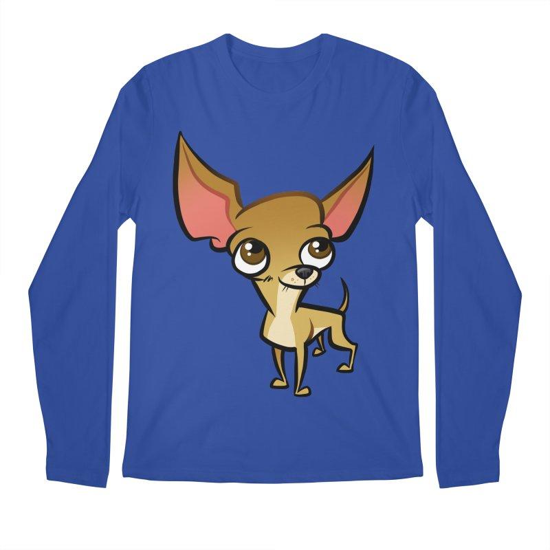 Chihuahua Men's Regular Longsleeve T-Shirt by binarygod's Artist Shop