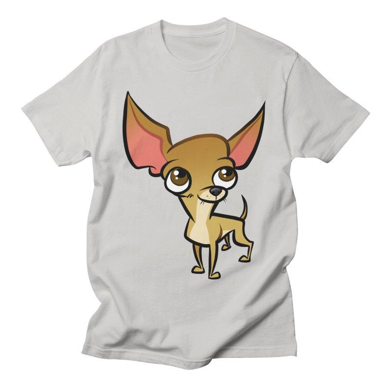 Chihuahua Women's Regular Unisex T-Shirt by binarygod's Artist Shop