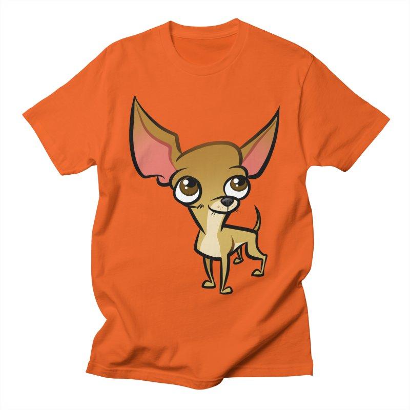 Chihuahua Men's Regular T-Shirt by binarygod's Artist Shop