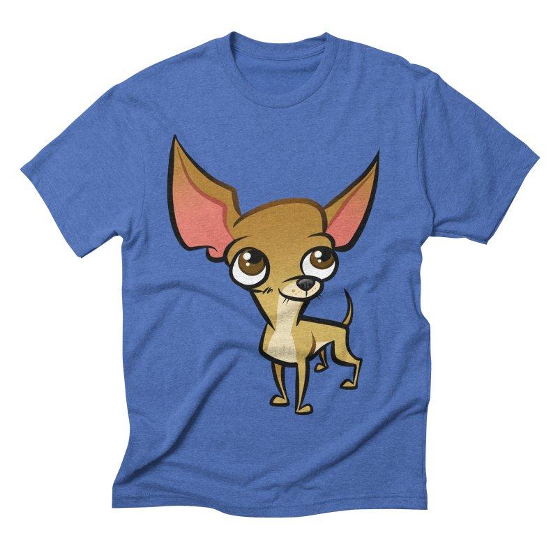 Chihuahua Men's Triblend T-Shirt by binarygod's Artist Shop