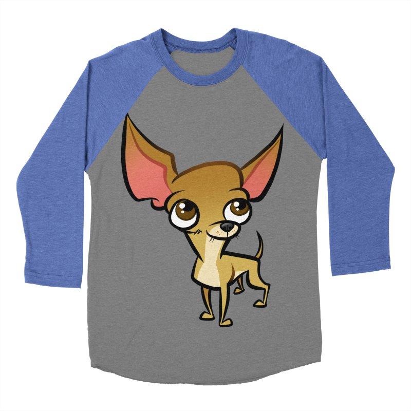 Chihuahua Women's Baseball Triblend Longsleeve T-Shirt by binarygod's Artist Shop