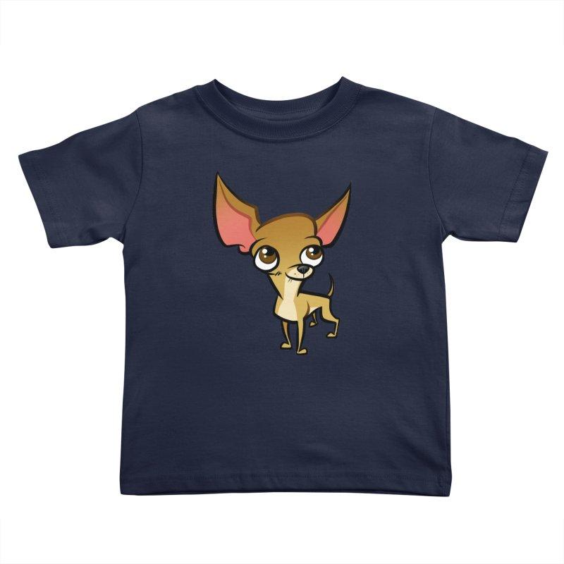 Chihuahua Kids Toddler T-Shirt by binarygod's Artist Shop