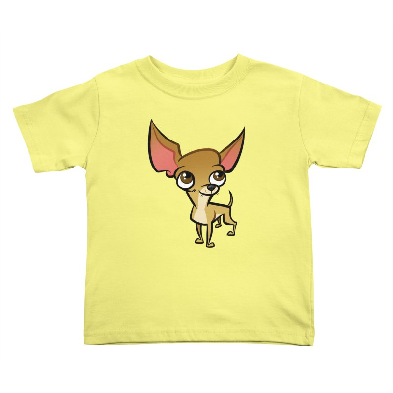 Chihuahua Kids Toddler T-Shirt by binarygod's Artist Shop