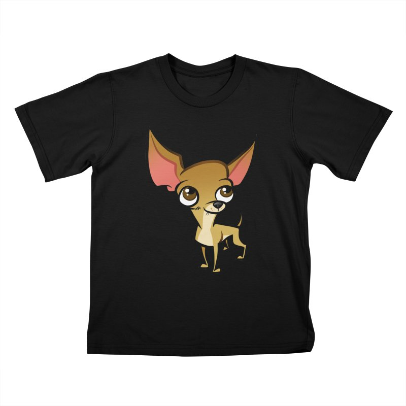 Chihuahua Kids T-Shirt by binarygod's Artist Shop