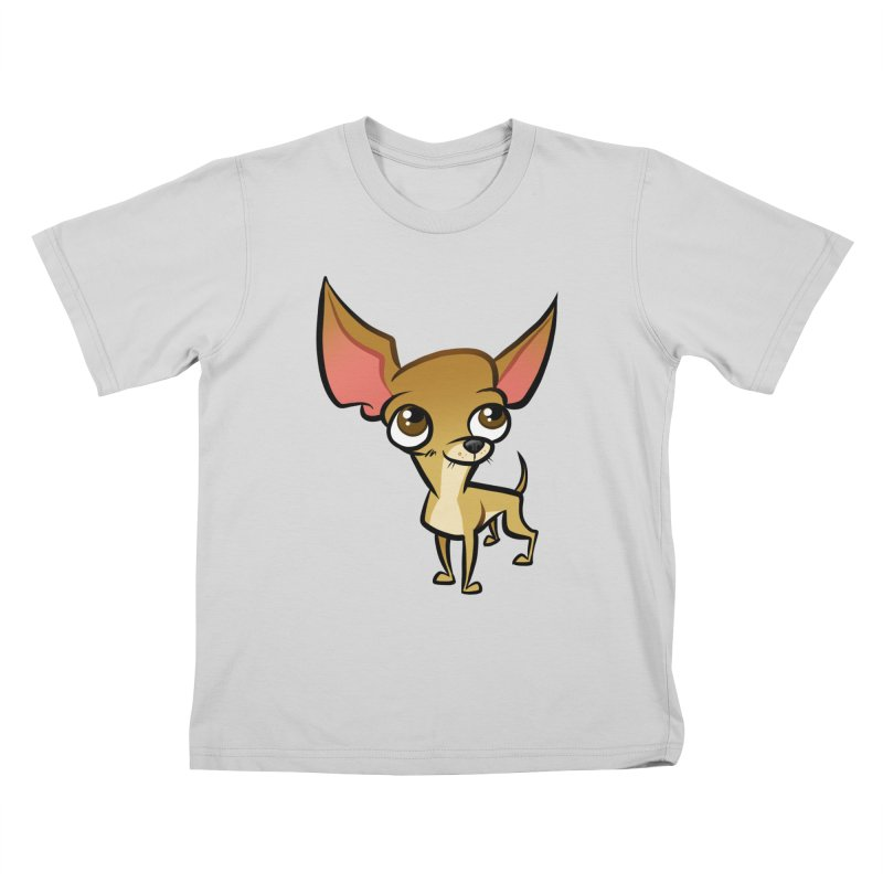 Chihuahua Kids T-Shirt by binarygod's Artist Shop