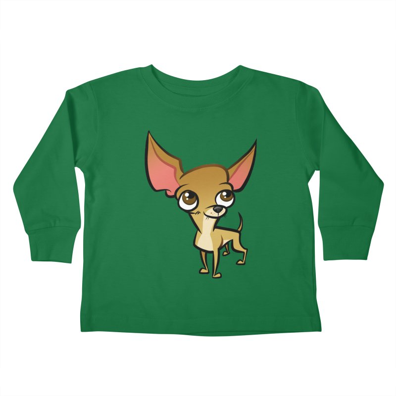 Chihuahua Kids Toddler Longsleeve T-Shirt by binarygod's Artist Shop