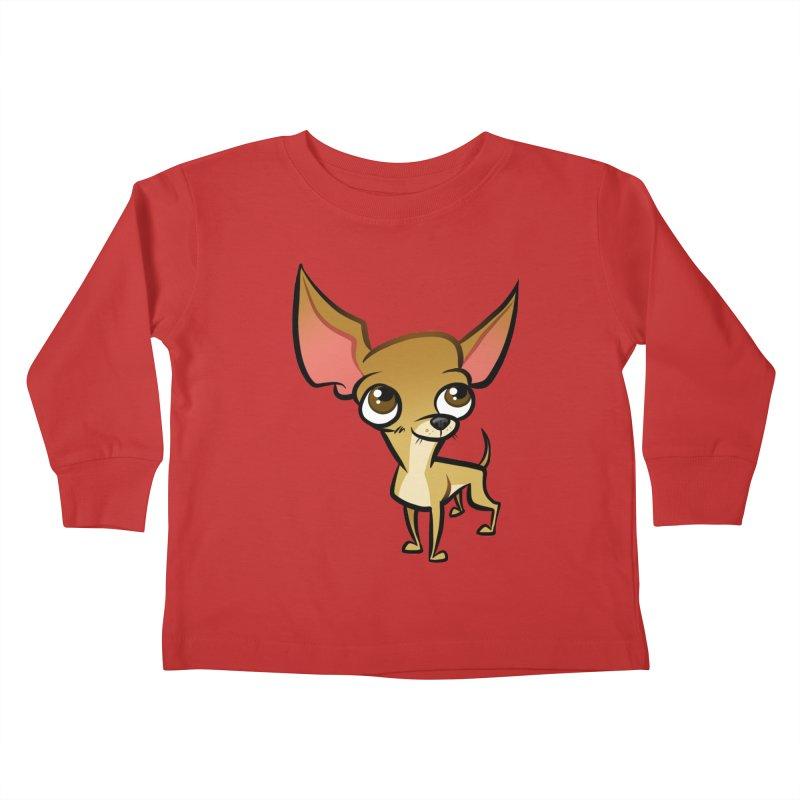Chihuahua Kids Toddler Longsleeve T-Shirt by binarygod's Artist Shop