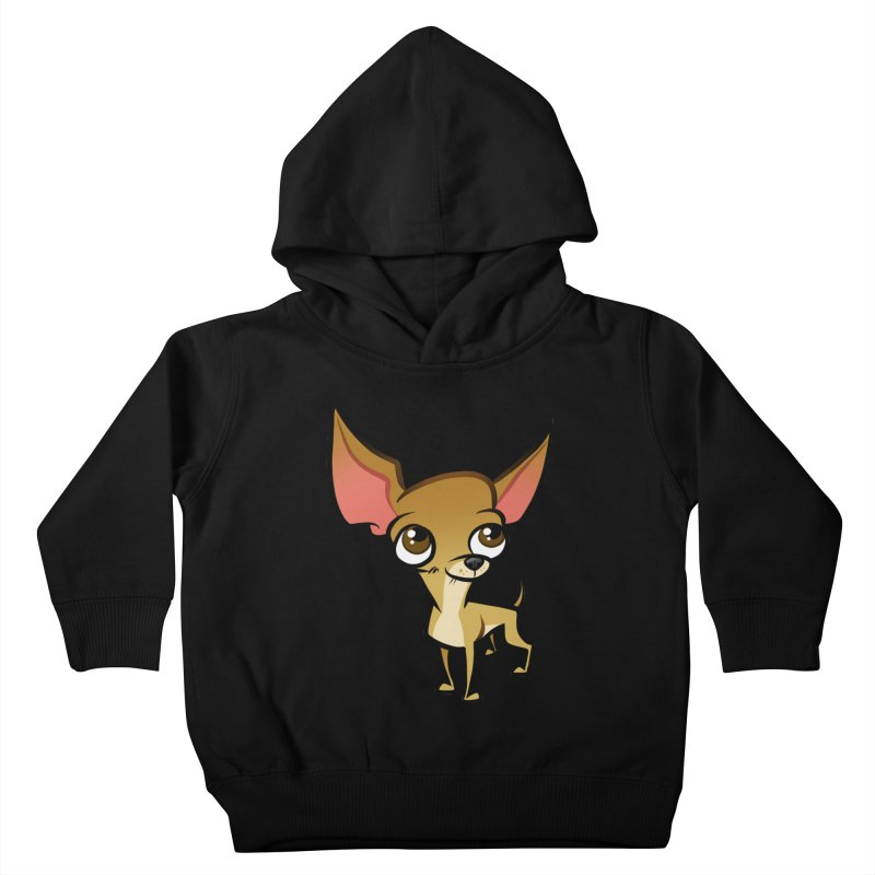 Chihuahua Kids Toddler Pullover Hoody by binarygod's Artist Shop