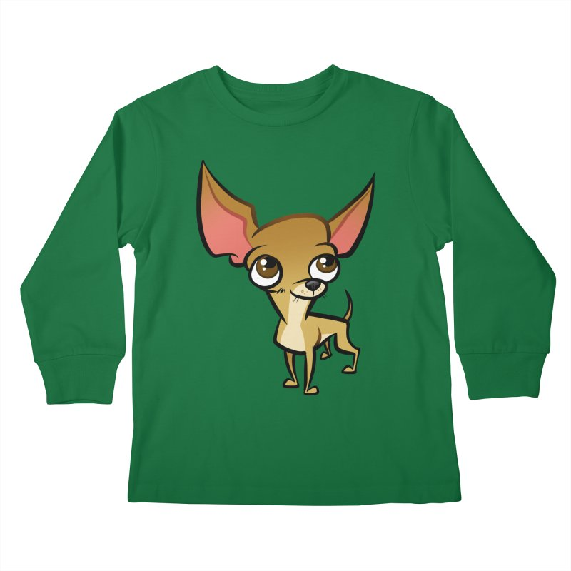 Chihuahua Kids Longsleeve T-Shirt by binarygod's Artist Shop