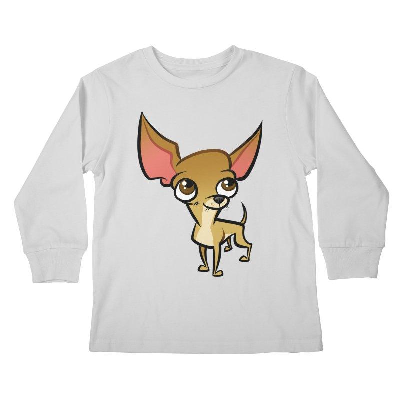 Chihuahua Kids Longsleeve T-Shirt by binarygod's Artist Shop