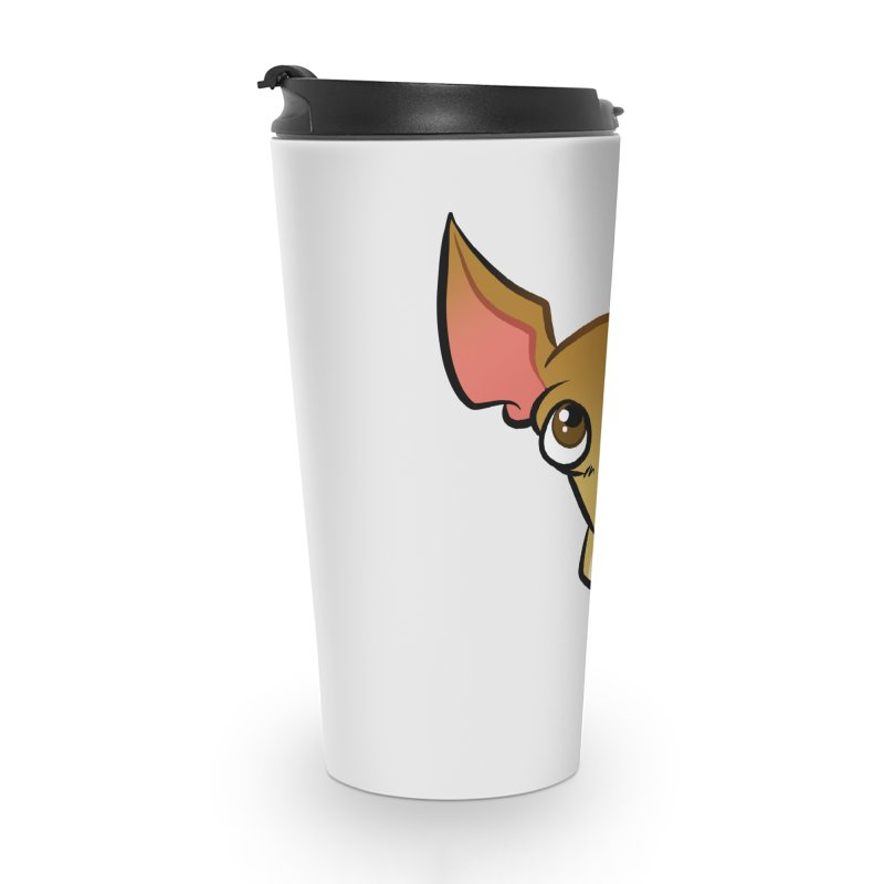 Chihuahua Accessories Travel Mug by binarygod's Artist Shop