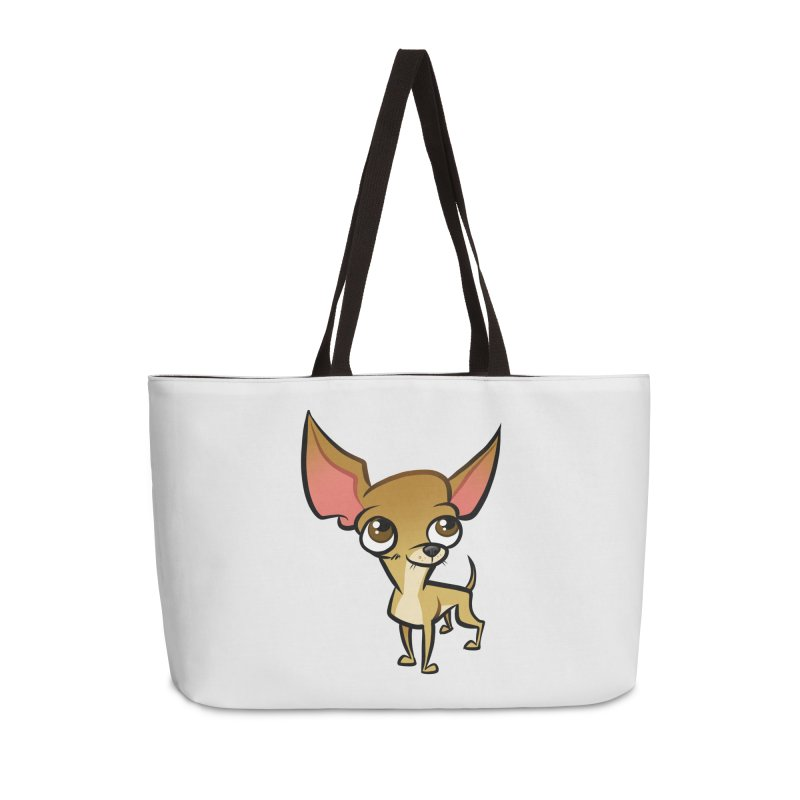 Chihuahua Accessories Weekender Bag Bag by binarygod's Artist Shop