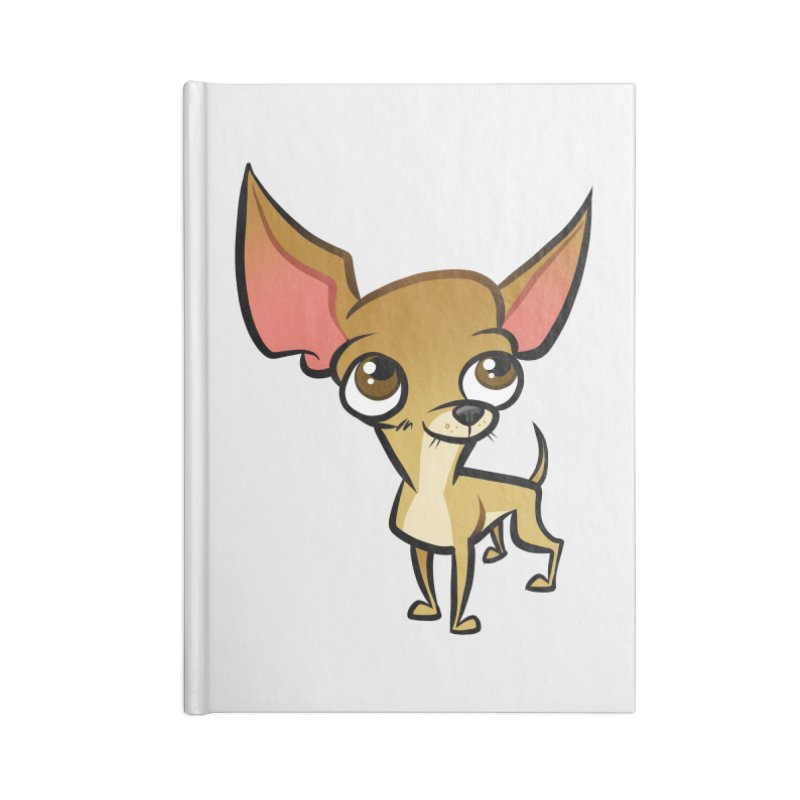 Chihuahua Accessories Lined Journal Notebook by binarygod's Artist Shop