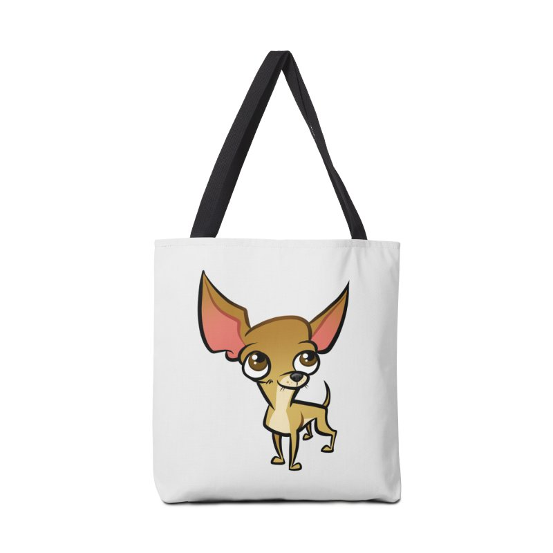 Chihuahua Accessories Tote Bag Bag by binarygod's Artist Shop
