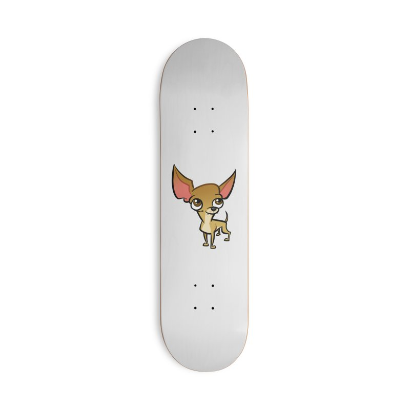 Chihuahua Accessories Deck Only Skateboard by binarygod's Artist Shop