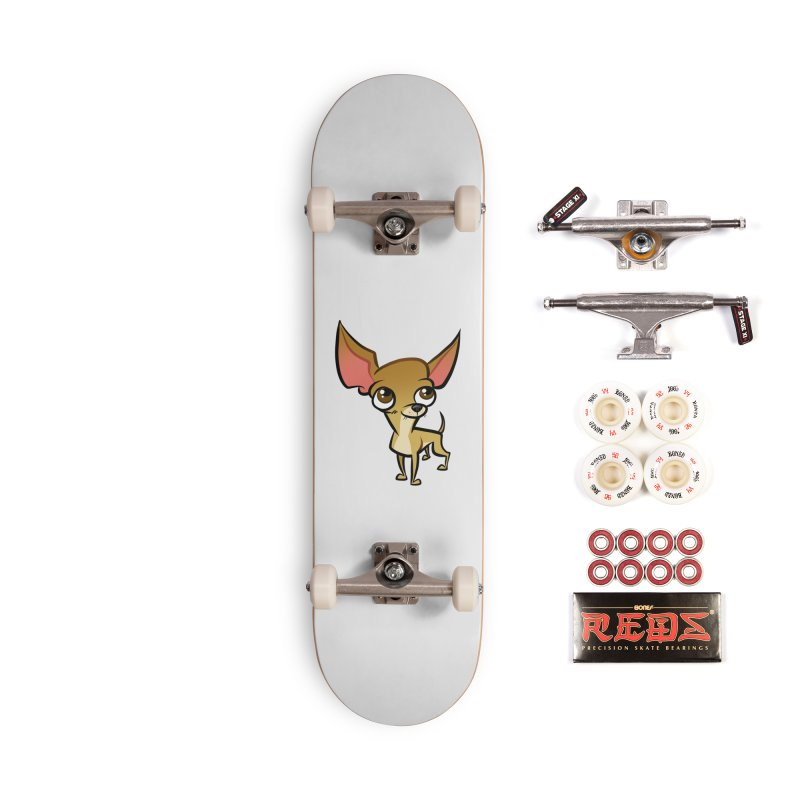 Chihuahua Accessories Complete - Pro Skateboard by binarygod's Artist Shop