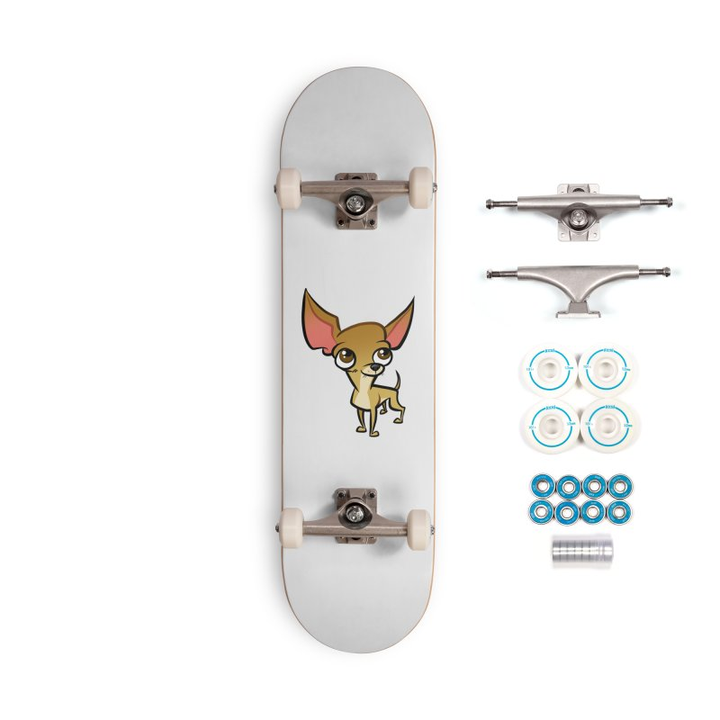 Chihuahua Accessories Complete - Basic Skateboard by binarygod's Artist Shop