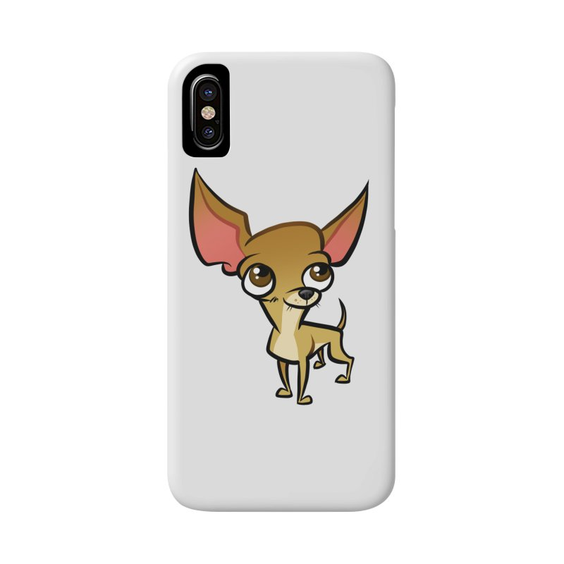 Chihuahua Accessories Phone Case by binarygod's Artist Shop