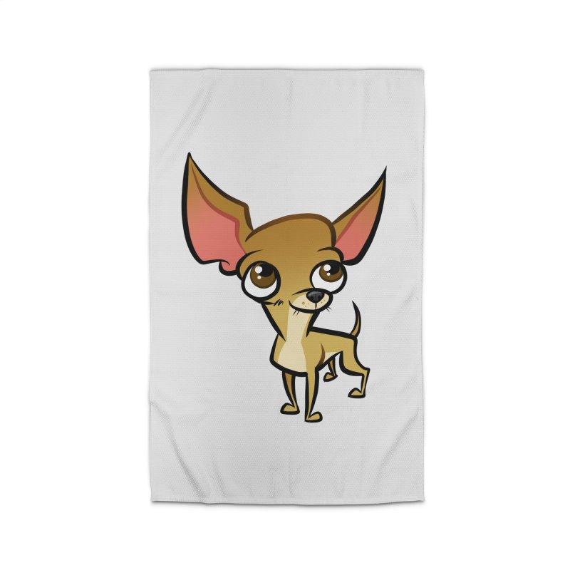 Chihuahua Home Rug by binarygod's Artist Shop