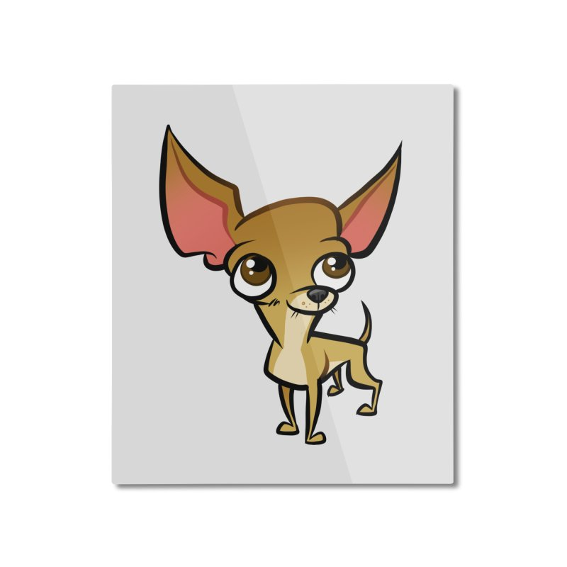 Chihuahua Home Mounted Aluminum Print by binarygod's Artist Shop
