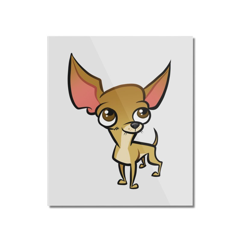 Chihuahua Home Mounted Acrylic Print by binarygod's Artist Shop