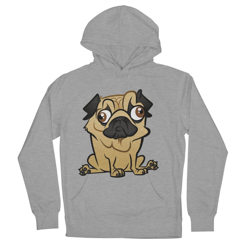 Pug Women's Pullover Hoody by binarygod's Artist Shop