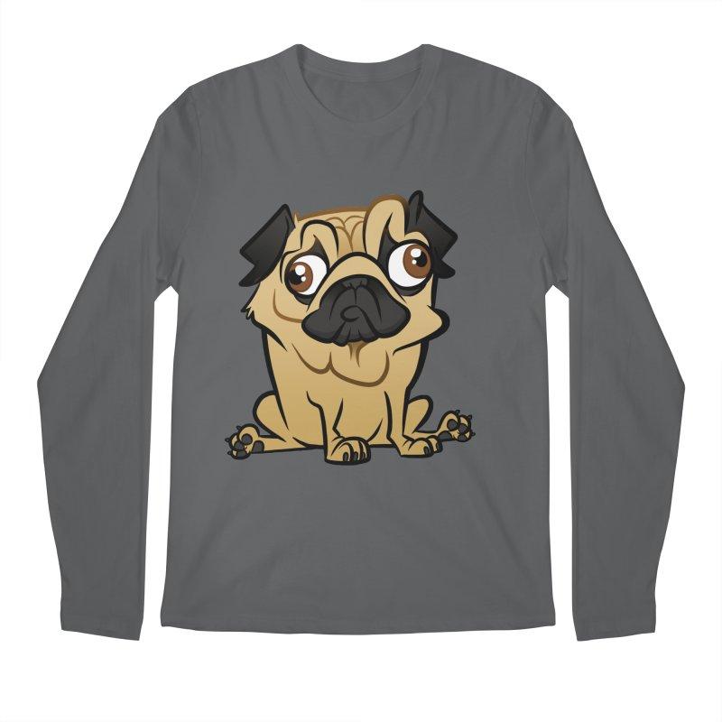 Pug Men's Longsleeve T-Shirt by binarygod's Artist Shop