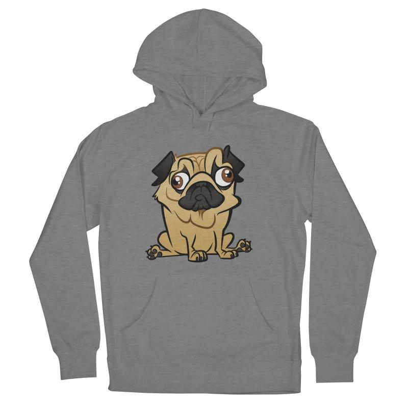 Pug Women's Pullover Hoody by binarygod's Artist Shop