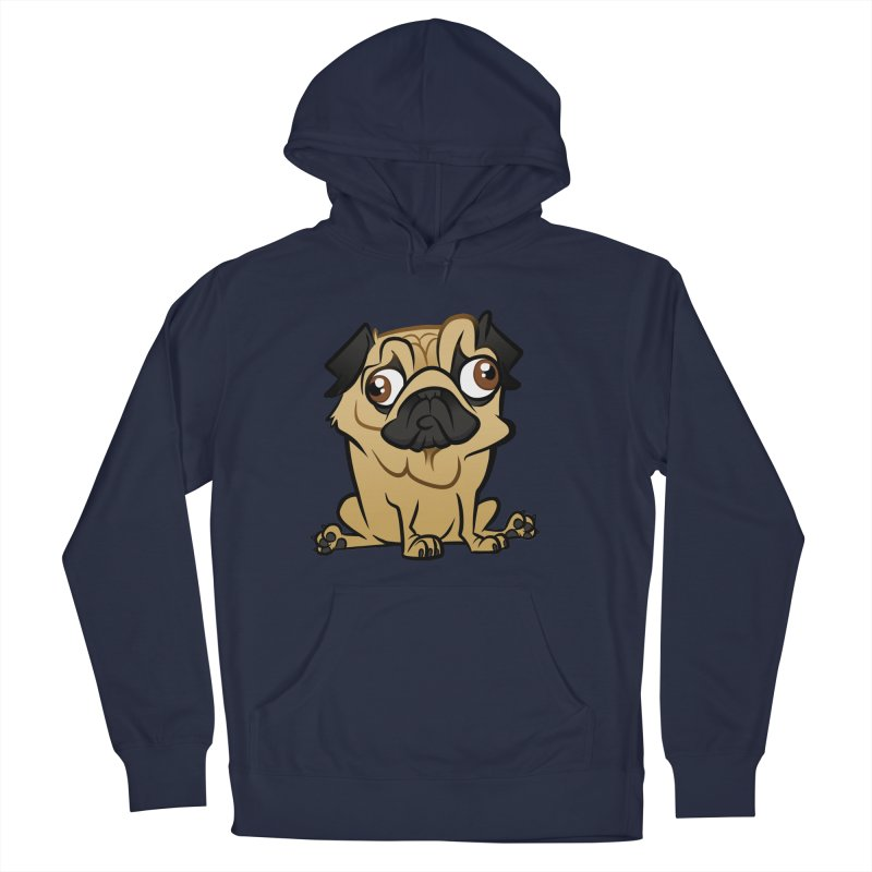 Pug Men's Pullover Hoody by binarygod's Artist Shop