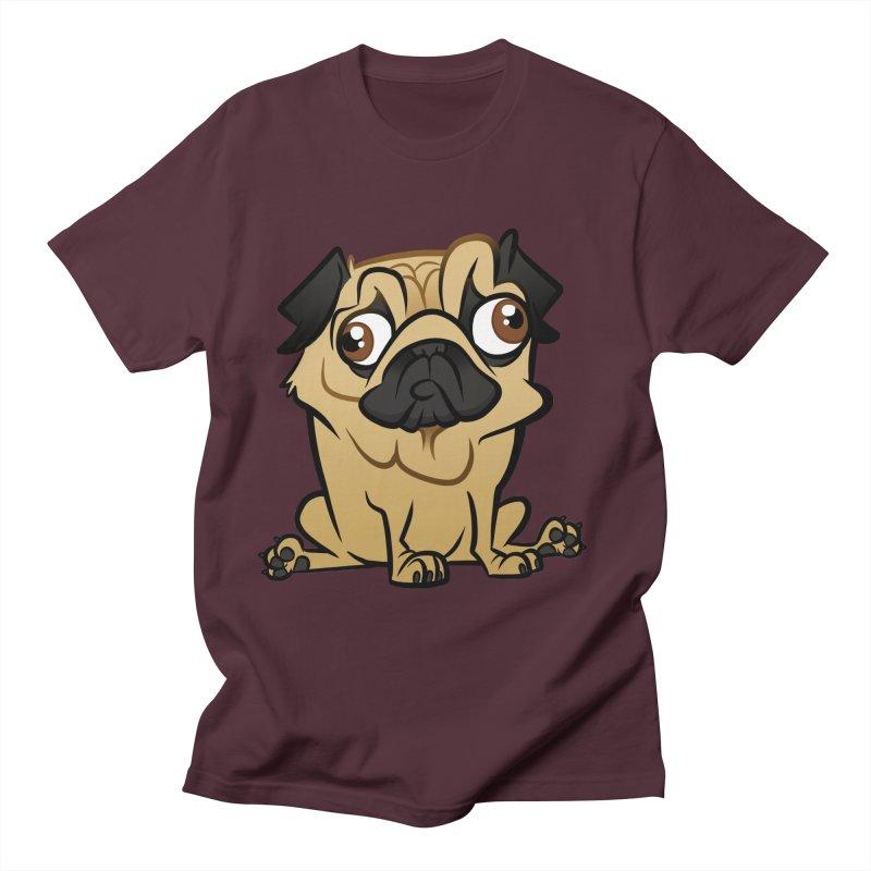 Pug Men's T-Shirt by binarygod's Artist Shop