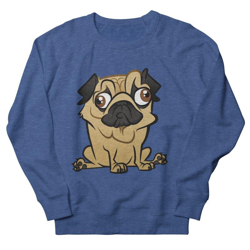 Pug Men's Sweatshirt by binarygod's Artist Shop