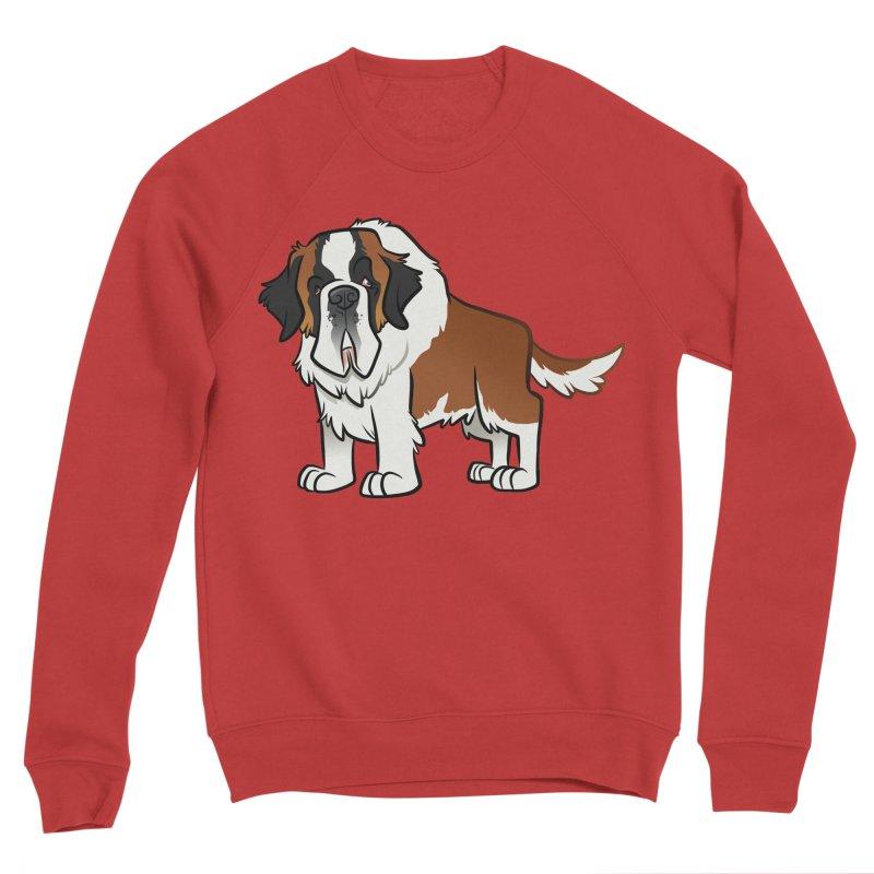 St. Bernard Women's Sponge Fleece Sweatshirt by binarygod's Artist Shop