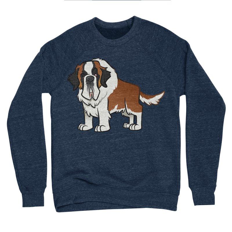 St. Bernard Men's Sponge Fleece Sweatshirt by binarygod's Artist Shop
