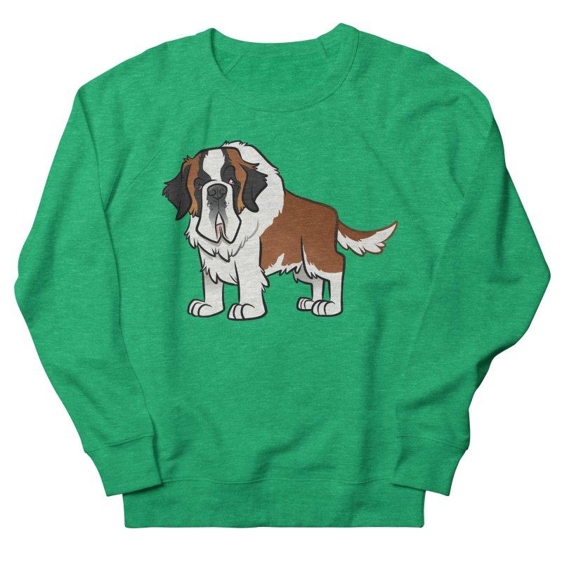 St. Bernard Women's Sweatshirt by binarygod's Artist Shop