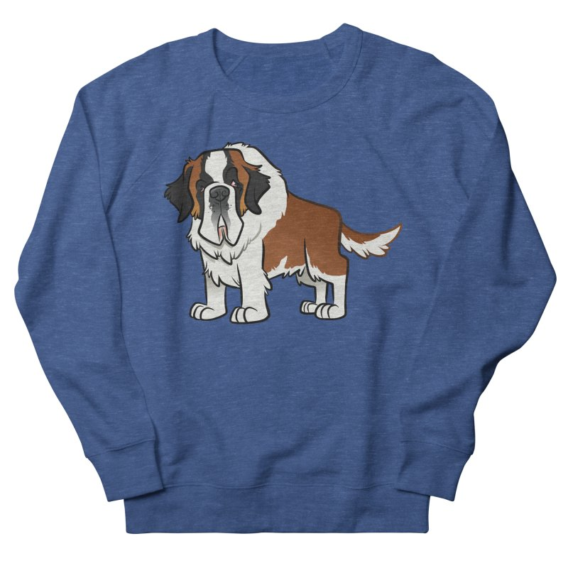 St. Bernard Men's Sweatshirt by binarygod's Artist Shop