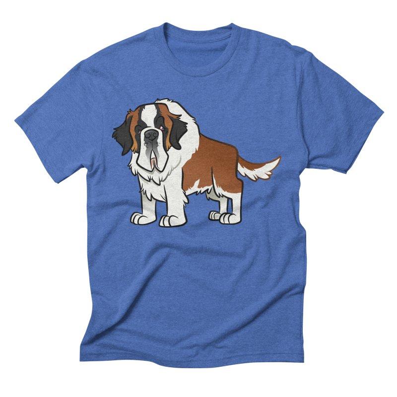 St. Bernard Men's T-Shirt by binarygod's Artist Shop