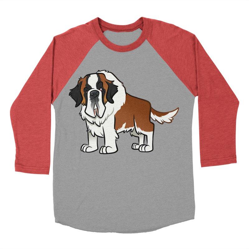 St. Bernard Men's Longsleeve T-Shirt by binarygod's Artist Shop