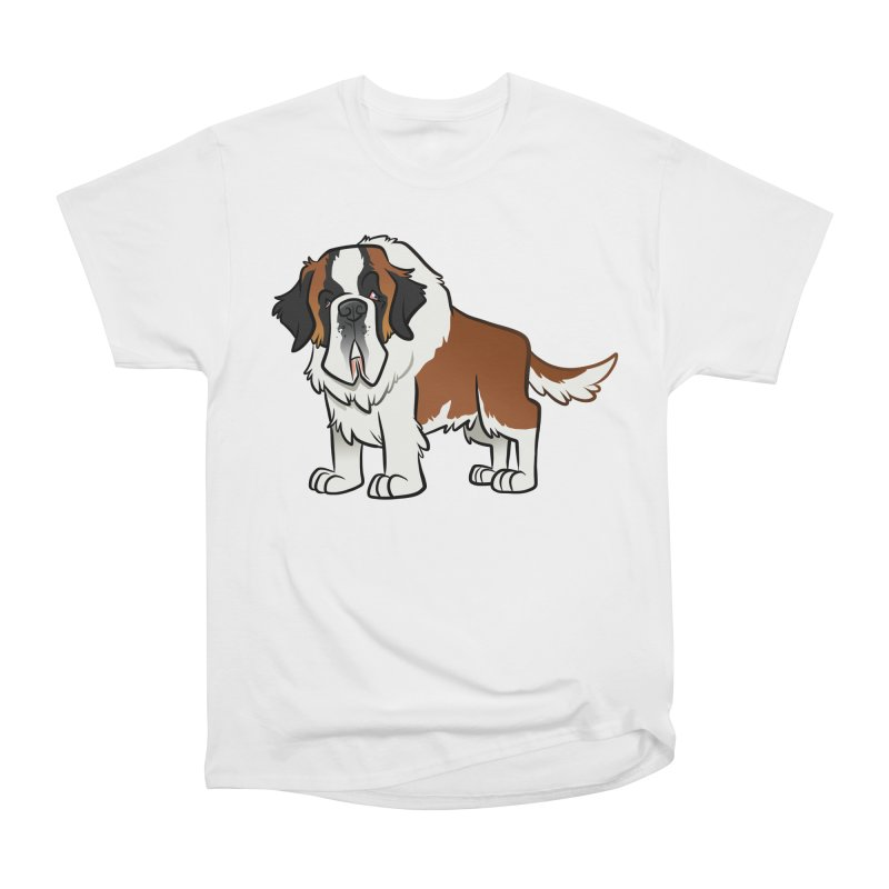 St. Bernard Men's Heavyweight T-Shirt by binarygod's Artist Shop