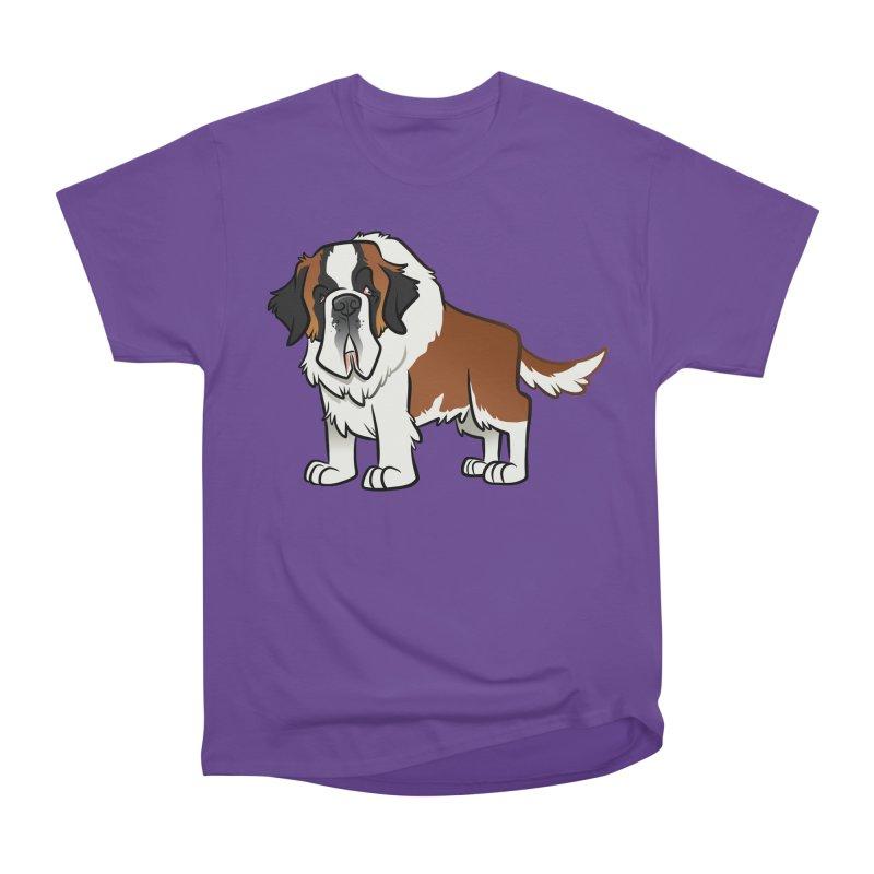 St. Bernard Women's Heavyweight Unisex T-Shirt by binarygod's Artist Shop