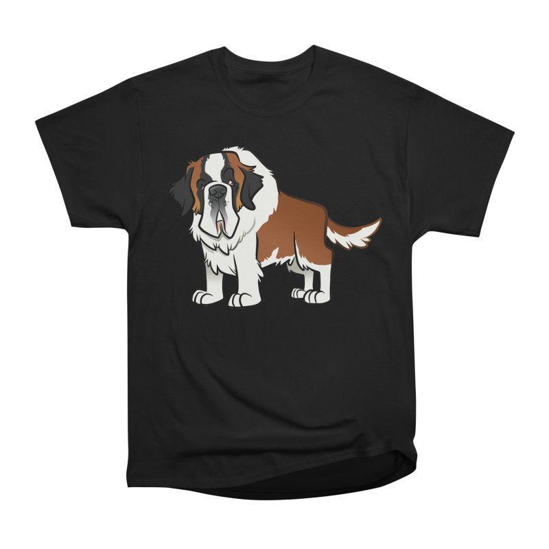 St. Bernard Women's Heavyweight Unisex T-Shirt by binarygod's Artist Shop