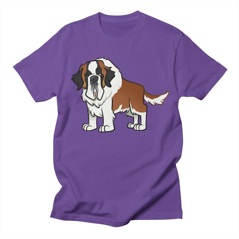 St. Bernard Women's Regular Unisex T-Shirt by binarygod's Artist Shop