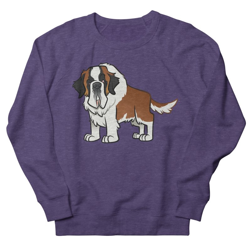 St. Bernard Women's French Terry Sweatshirt by binarygod's Artist Shop