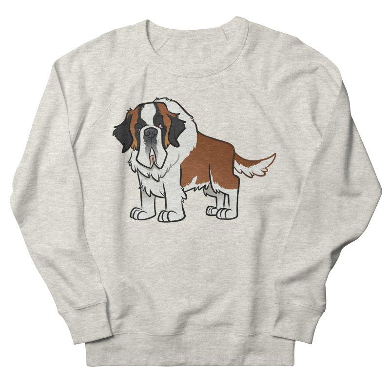 St. Bernard Women's French Terry Sweatshirt by binarygod's Artist Shop