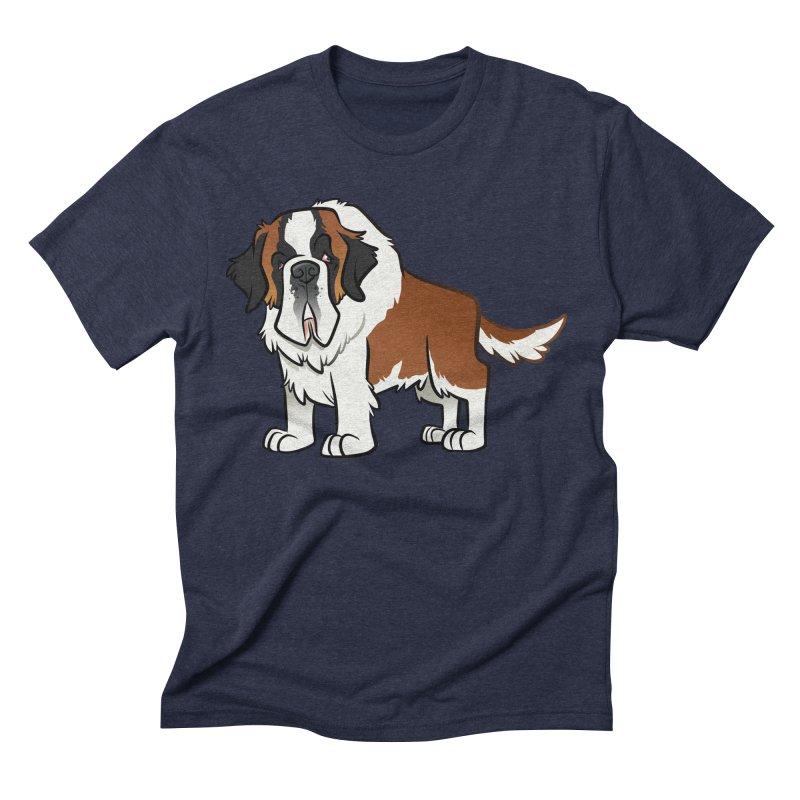 St. Bernard Men's Triblend T-Shirt by binarygod's Artist Shop